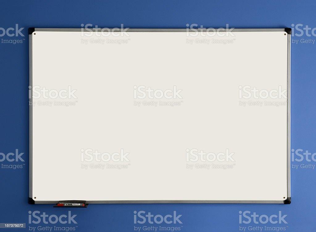 Empty Whiteboard royalty-free stock photo