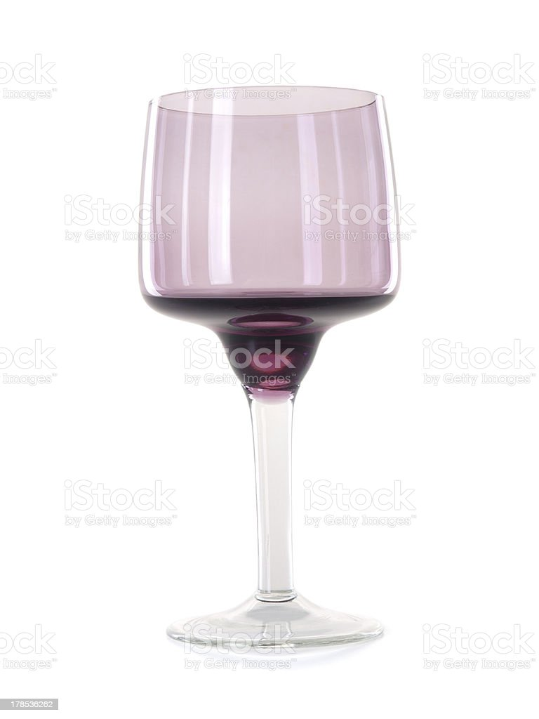 empty wine glass royalty-free stock photo