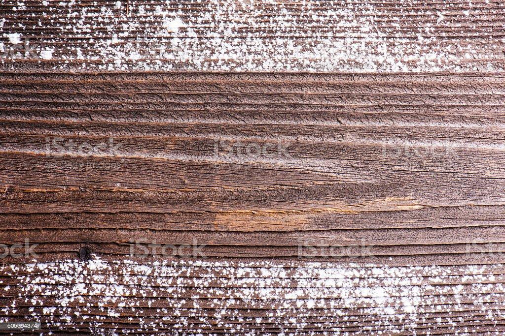 Empty wooden background. stock photo