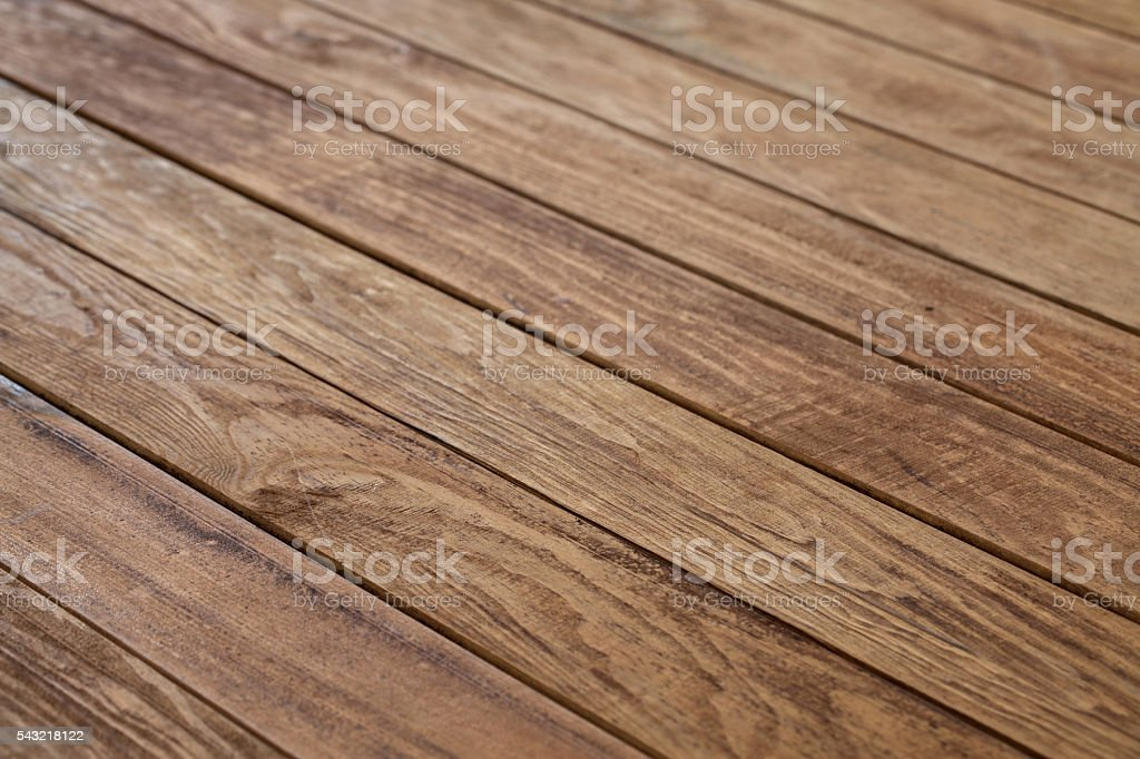 Empty wooden table stock photo