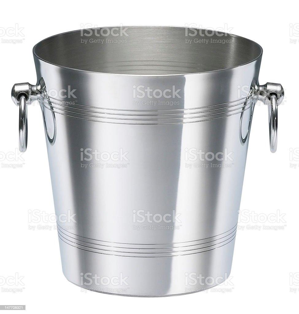 empty\twine cooler stock photo