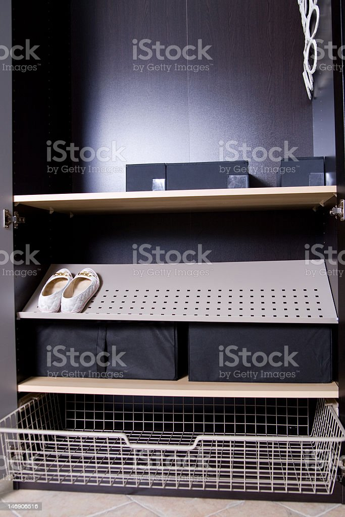 empy cupboard royalty-free stock photo