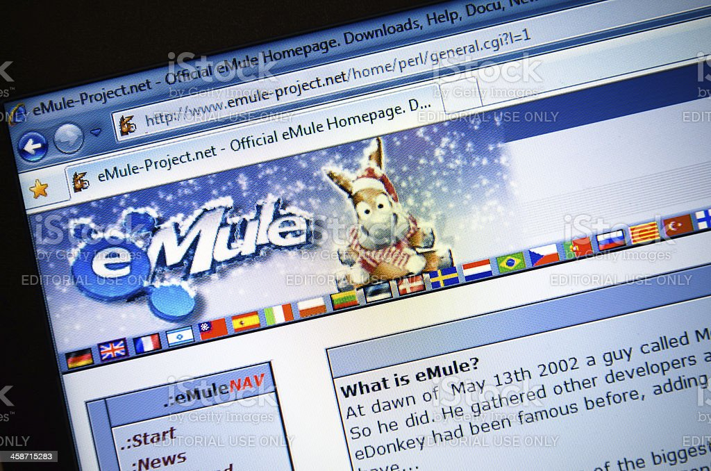 Emule project net home perl