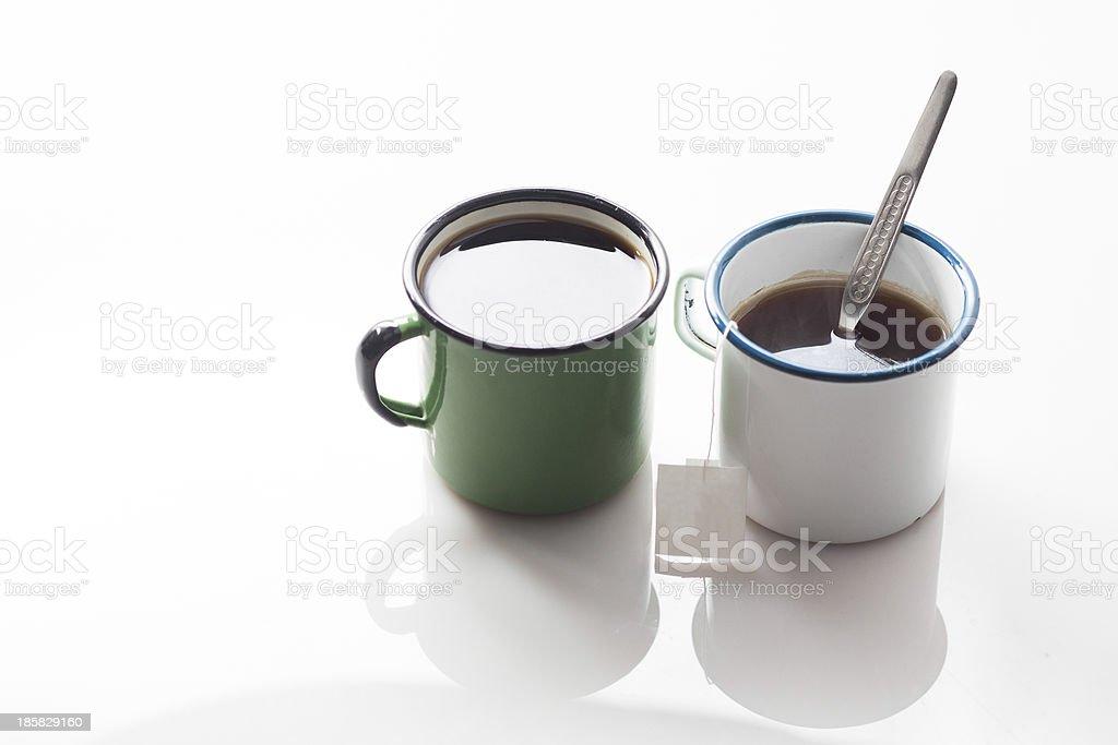 enamel cup royalty-free stock photo