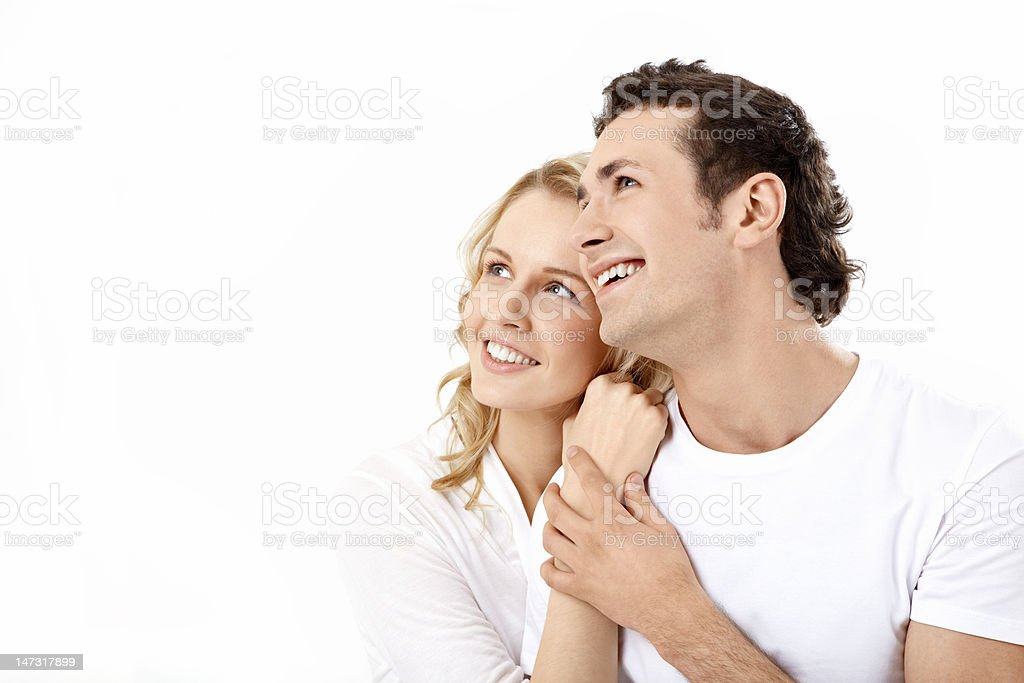 Enamoured couple royalty-free stock photo