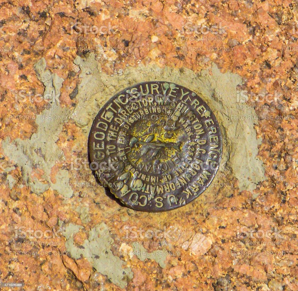 Enchanted Rock - Central Texas stock photo
