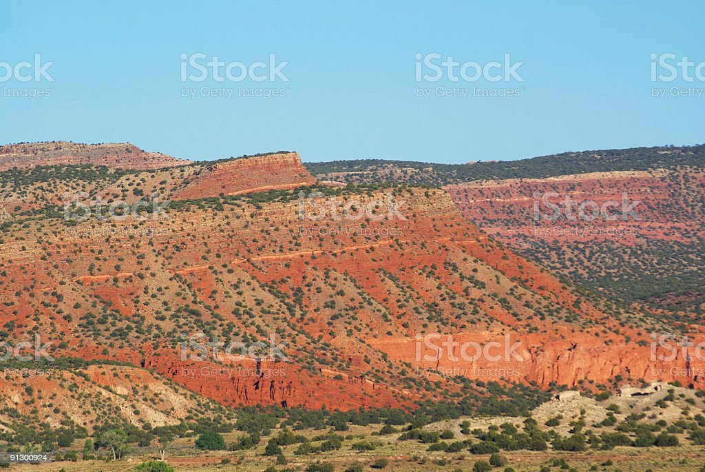 enchanting southwestern landscape stock photo