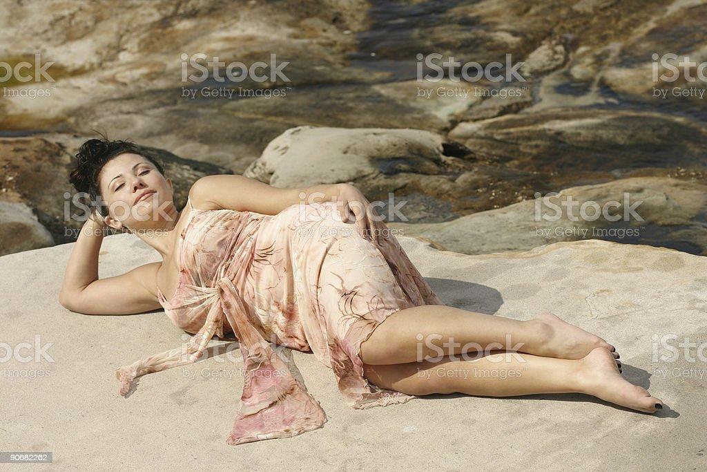 Enchantress royalty-free stock photo