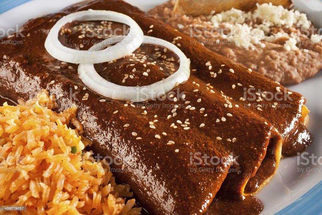 Enchiladas stock photo