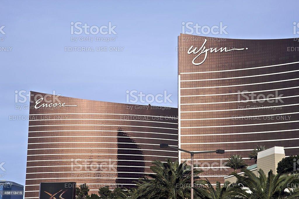 Encore and Wynn Resorts royalty-free stock photo