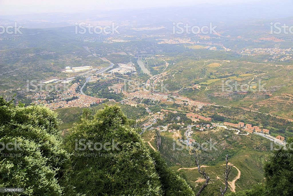 Encrouched Valley royalty-free stock photo