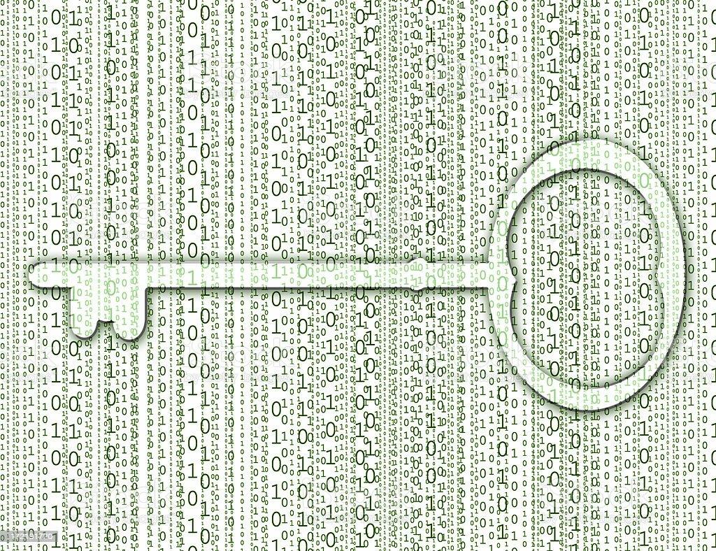 Encryption stock photo