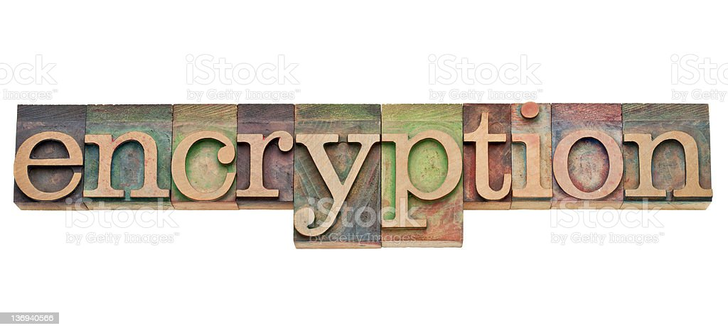 encryption - security concept royalty-free stock photo