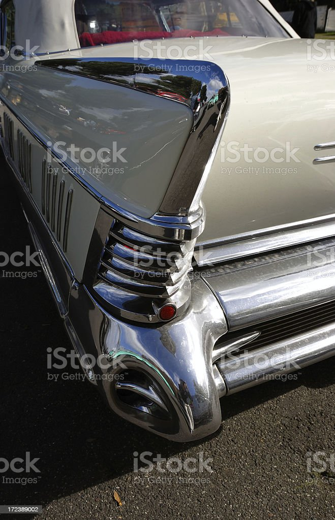 convertible fin royalty-free stock photo