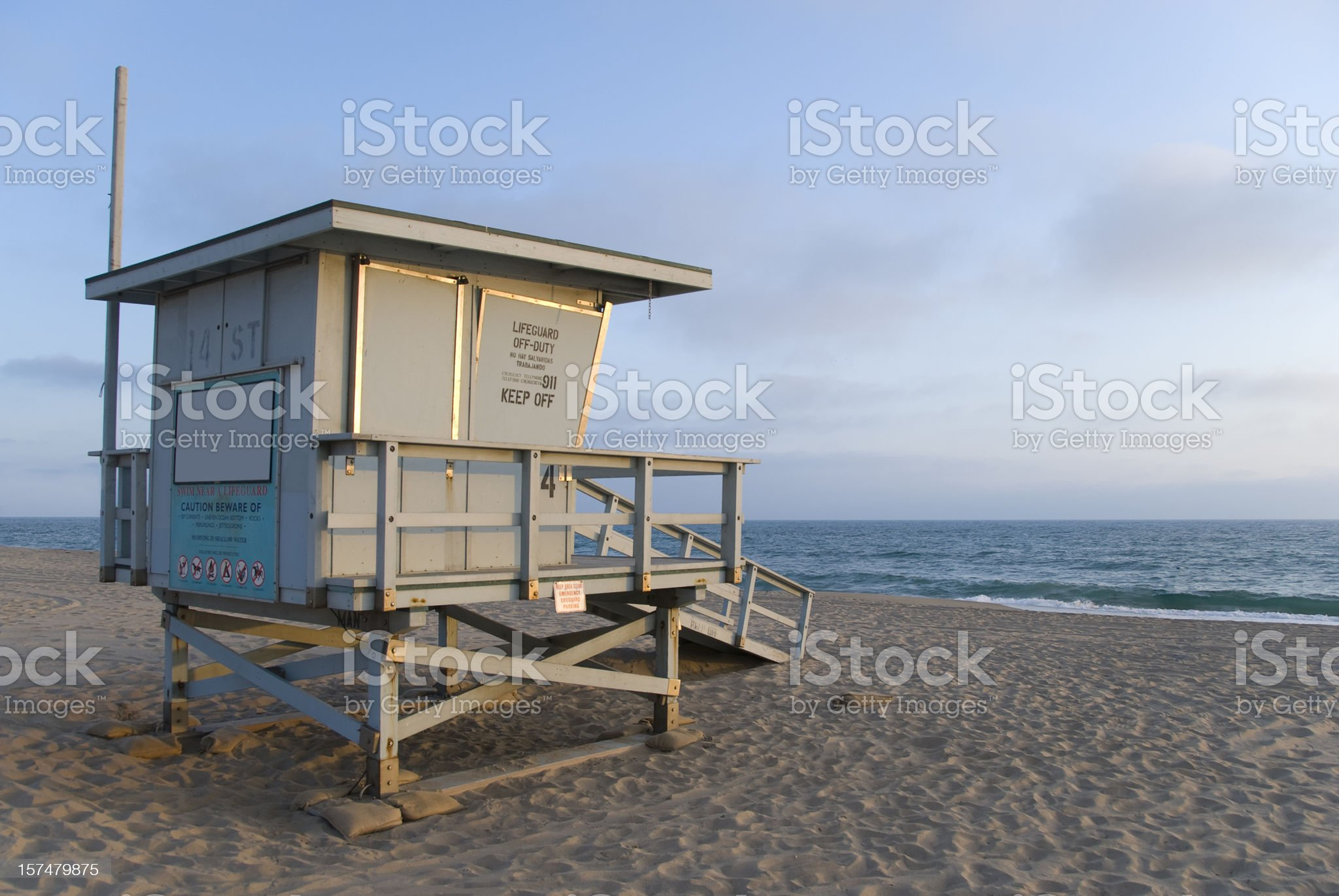 End of a summer day royalty-free stock photo