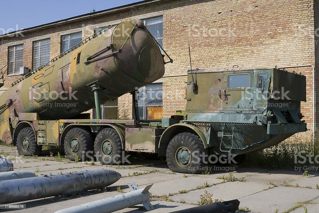 End of cold war stock photo