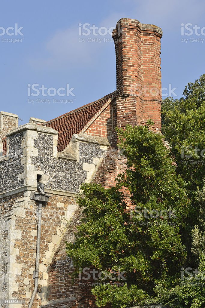 End of Priory stock photo