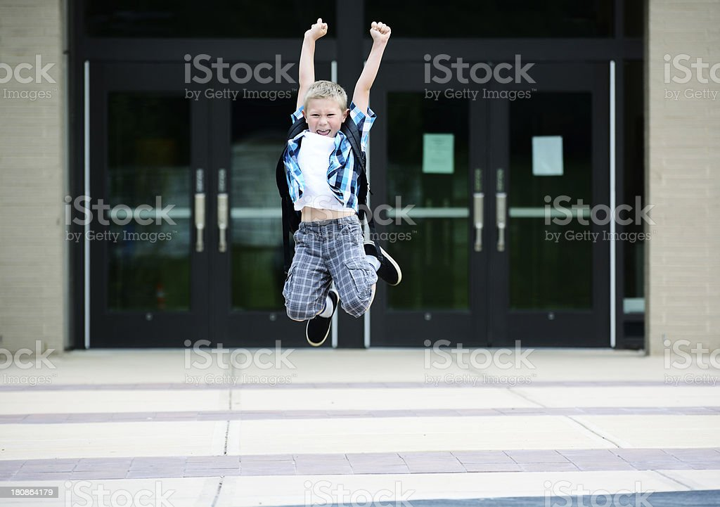 End of school royalty-free stock photo