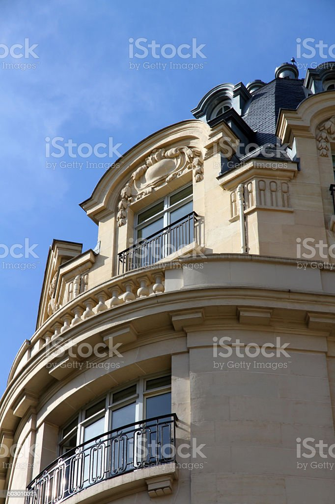 End of the Building royalty-free stock photo