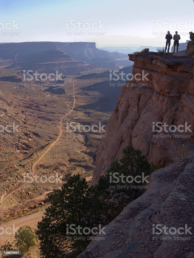 End of the climb royalty-free stock photo
