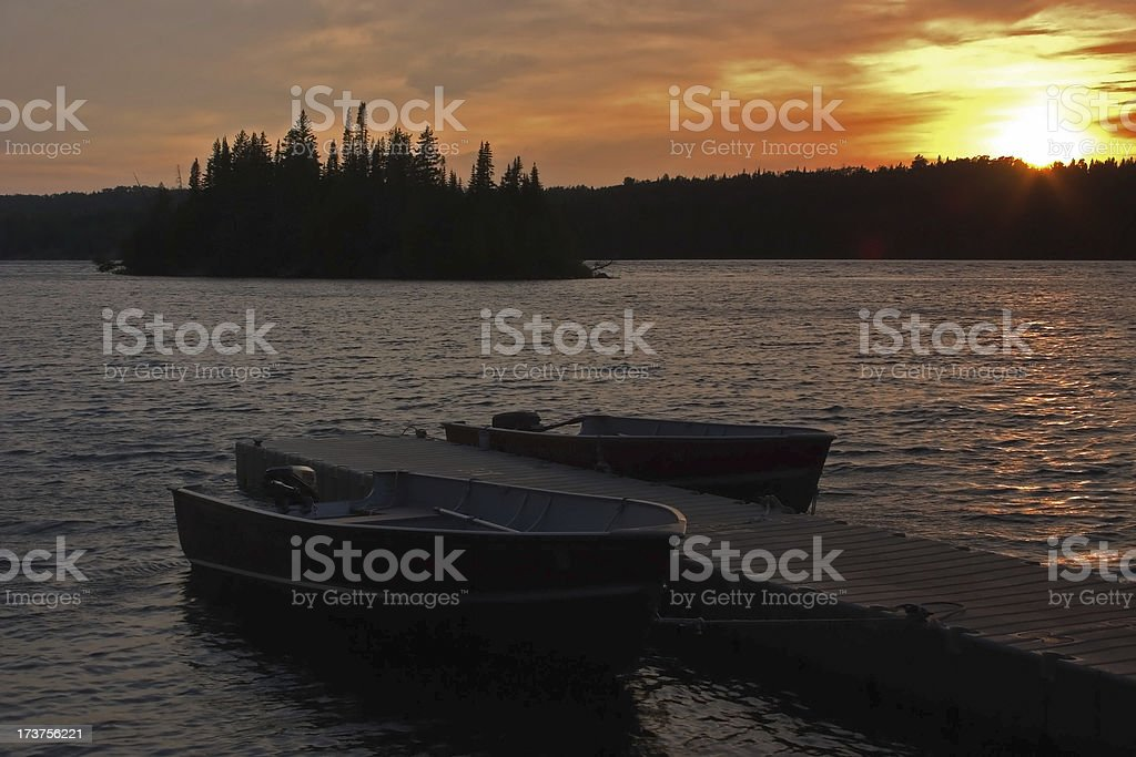 End of the Day royalty-free stock photo