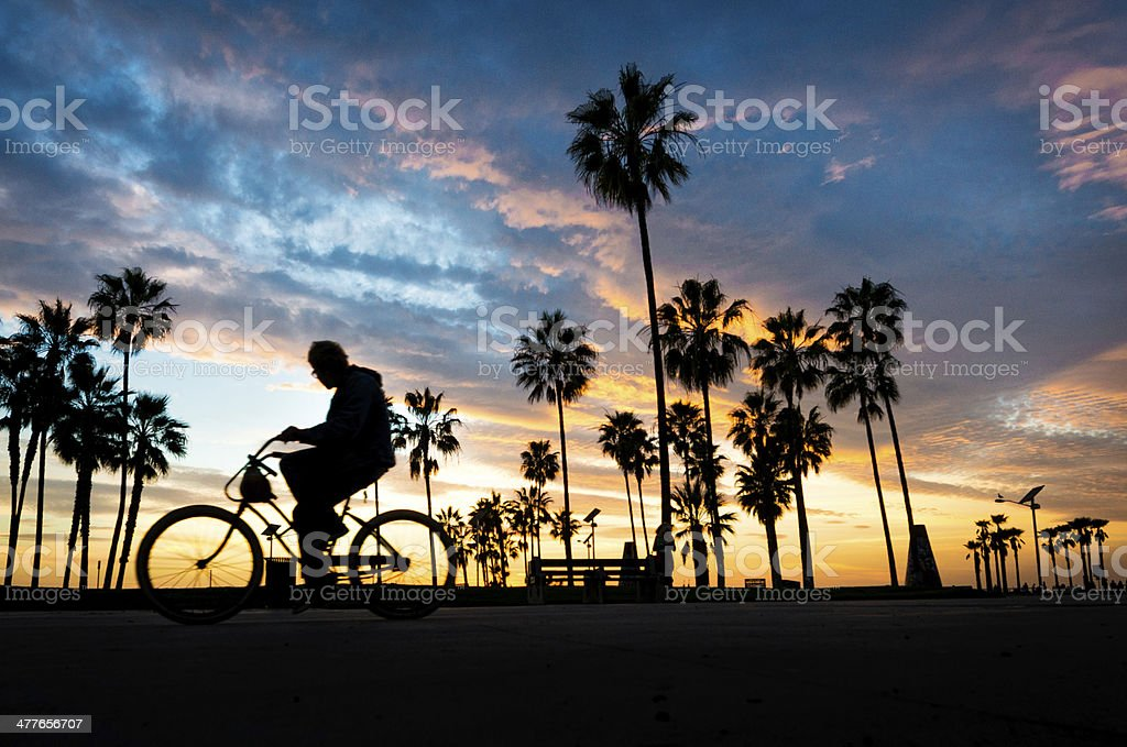 End of the day stock photo