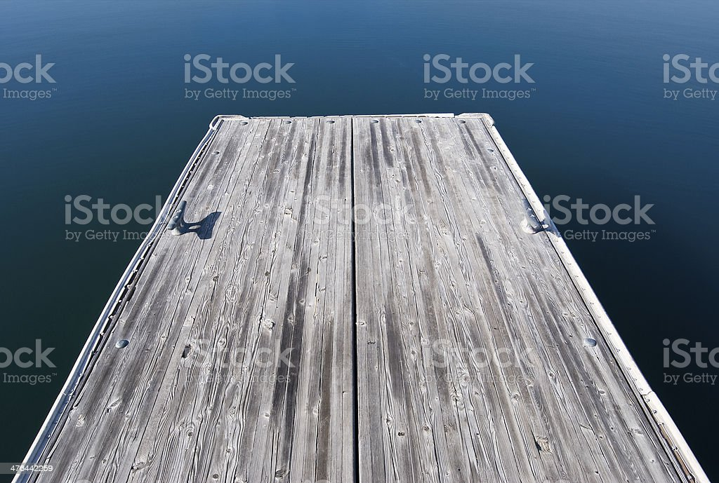 End of the Dock stock photo