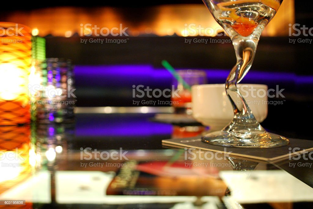 end of the night. stock photo