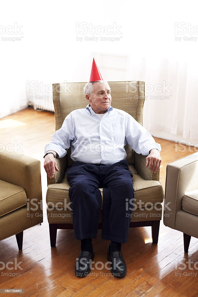 End of the party royalty-free stock photo