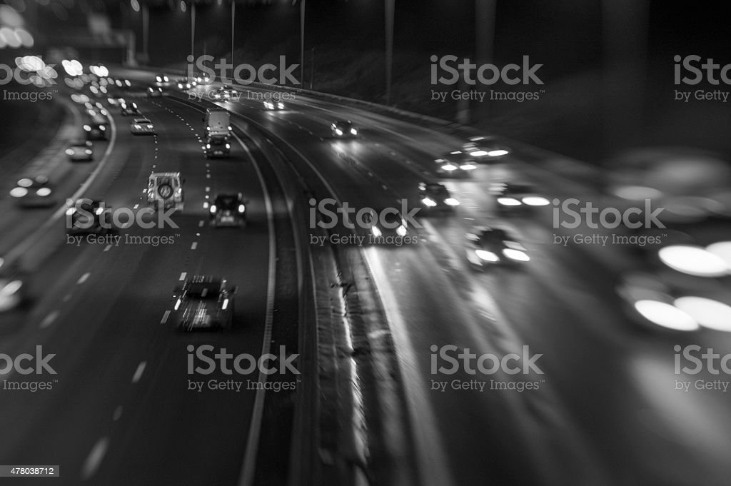 End of the Rush Hour 2 stock photo