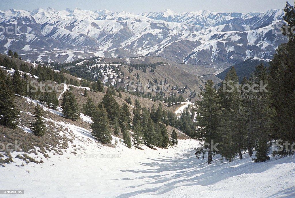 End of the Ski Season stock photo