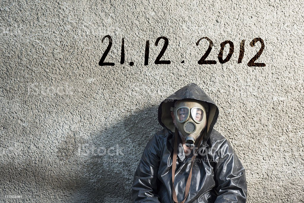 End of the World is comming stock photo