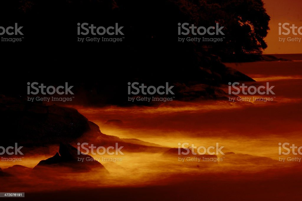 End of the World royalty-free stock photo