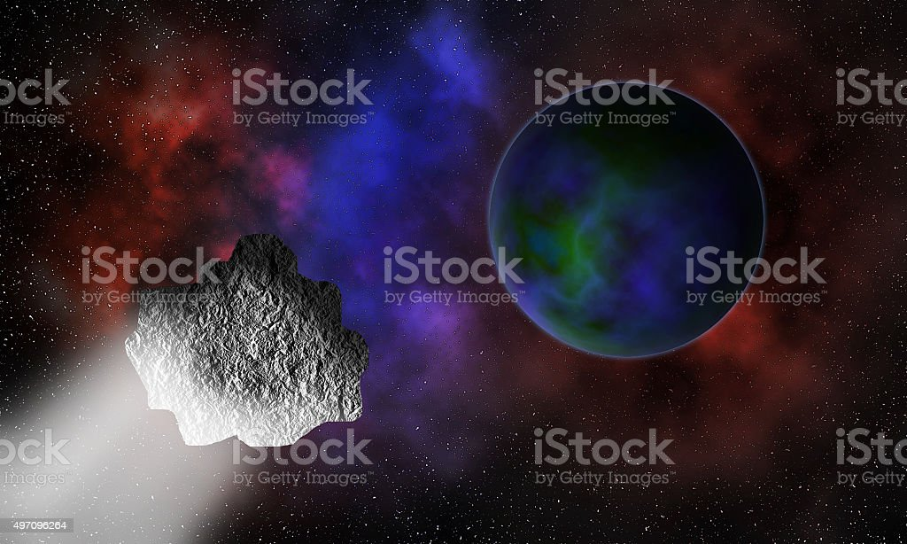 End of the world. stock photo