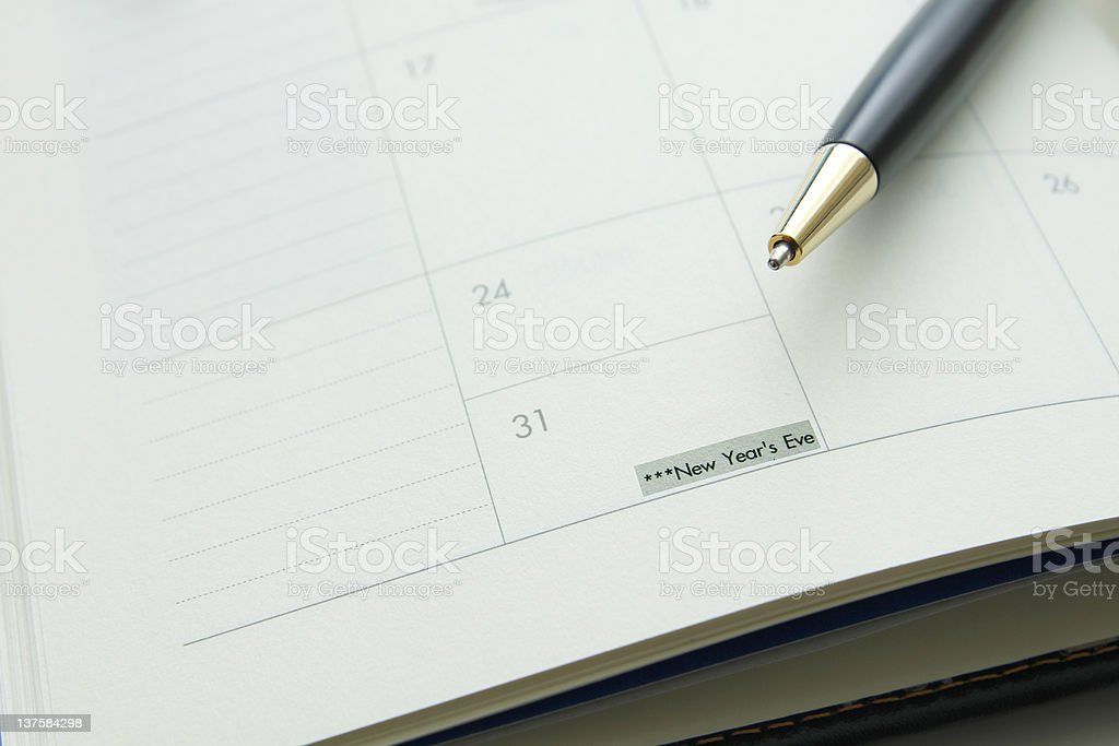 End of the year royalty-free stock photo