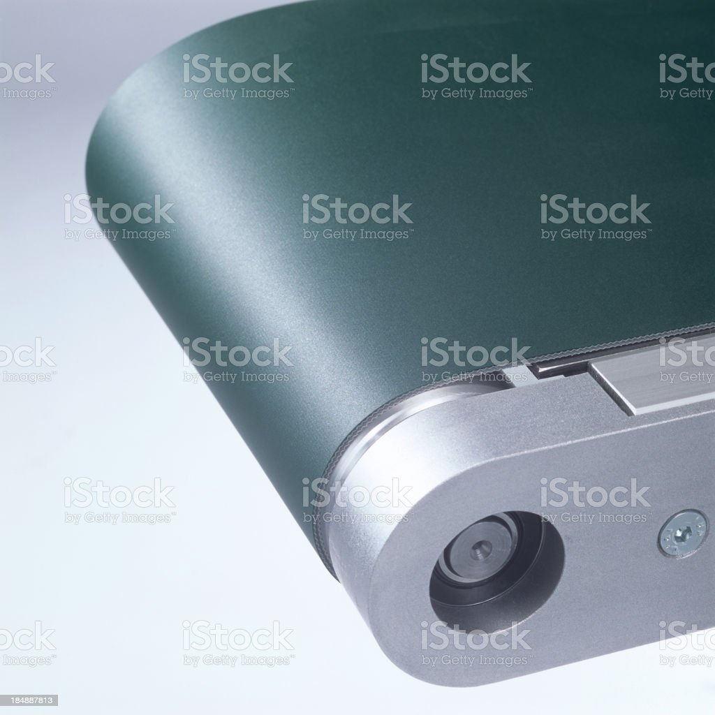 End part of a conveyor belt stock photo