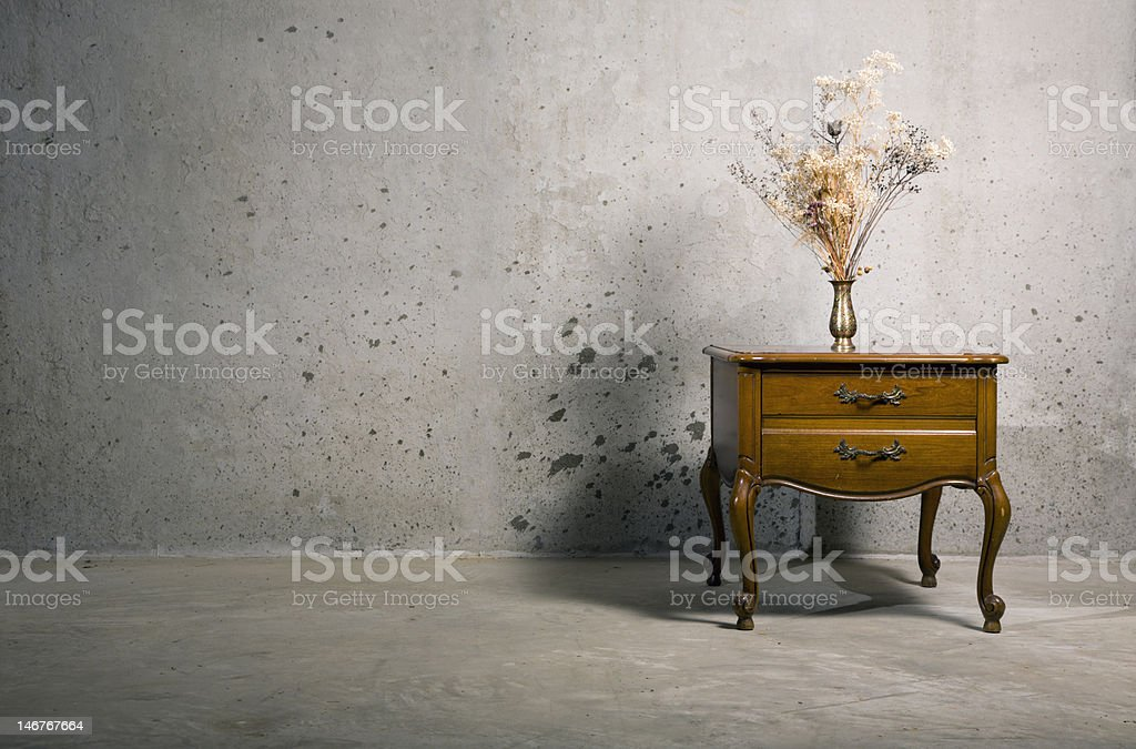End table stock photo