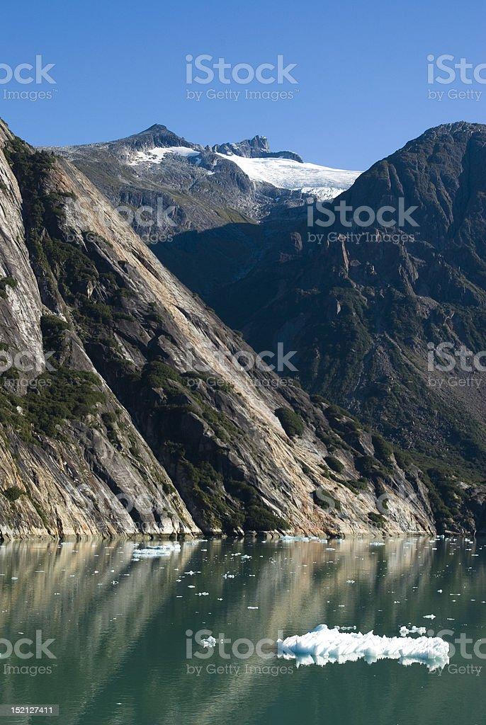 Endicott Arm in Alaska stock photo