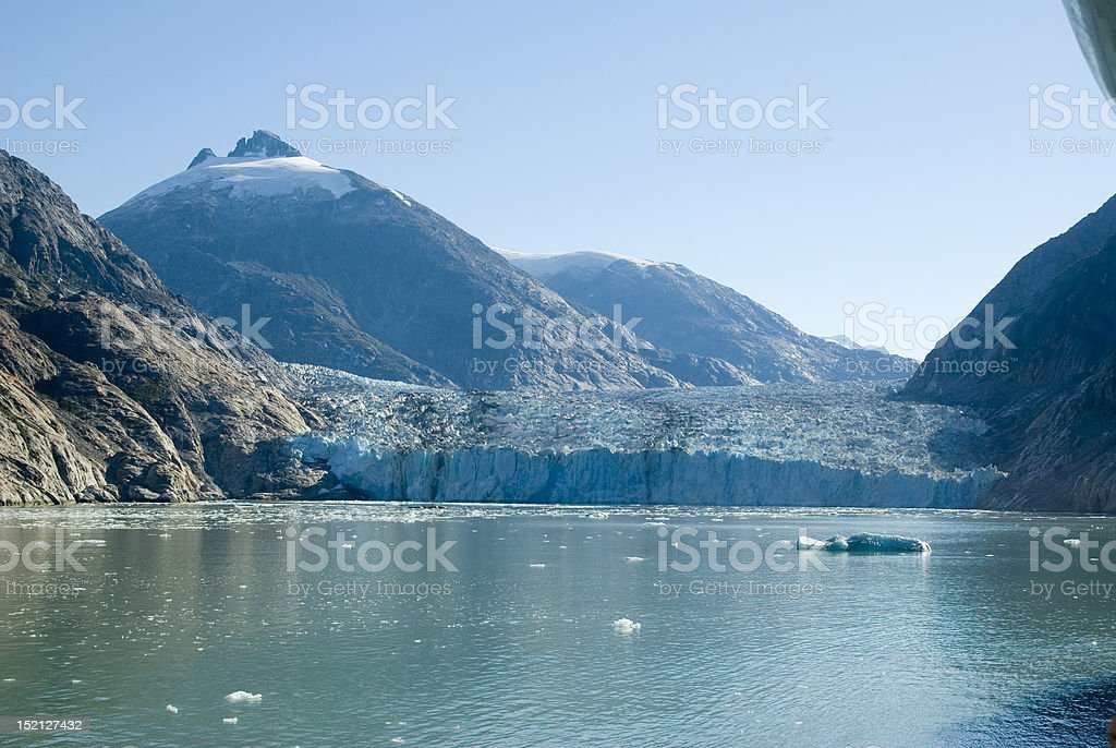 Endicott Arm in Alaska stock photo