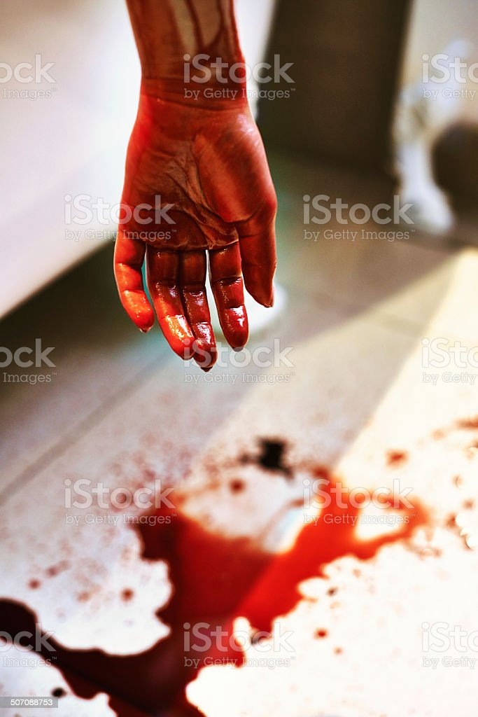 Ending it all stock photo