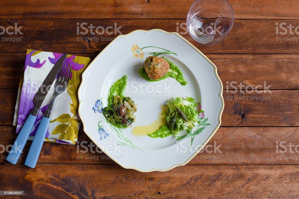 Endive Appetizer stock photo