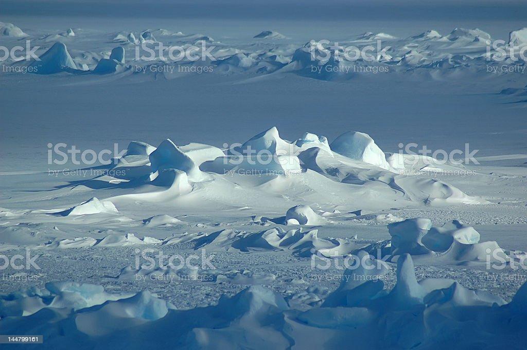 無限の南極 ロイヤリティフリーストックフォト