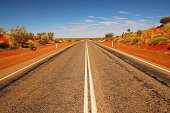 Endless Australian outback roads