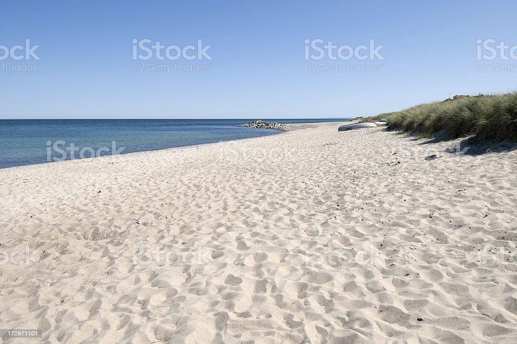 Endless beach. royalty-free stock photo