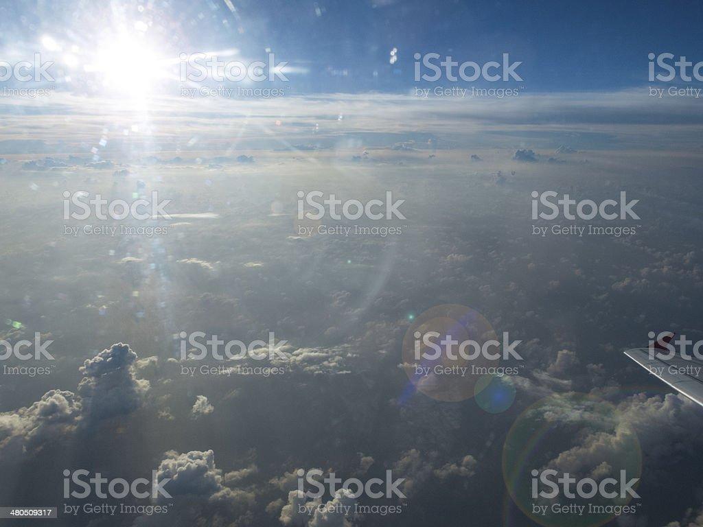 Endless Blue Sky royalty-free stock photo