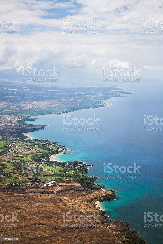 Endless Coastline stock photo