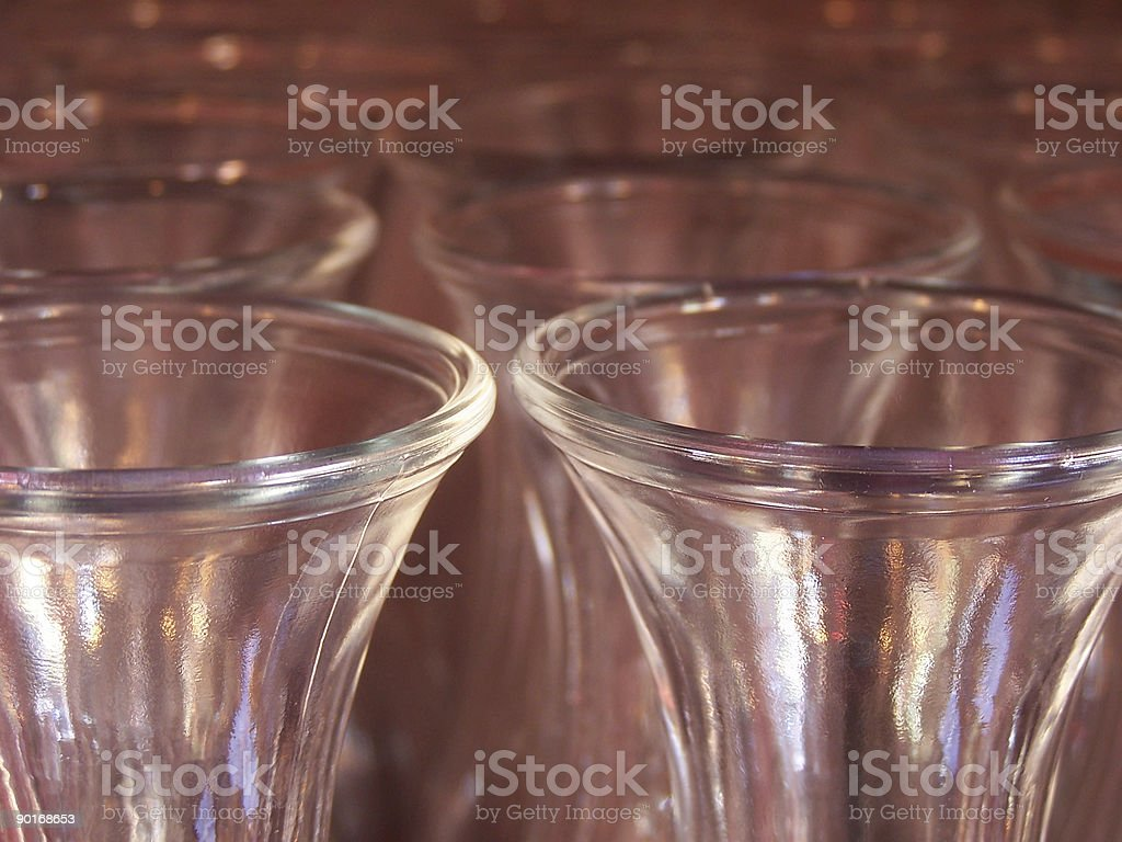 Endless Glass royalty-free stock photo