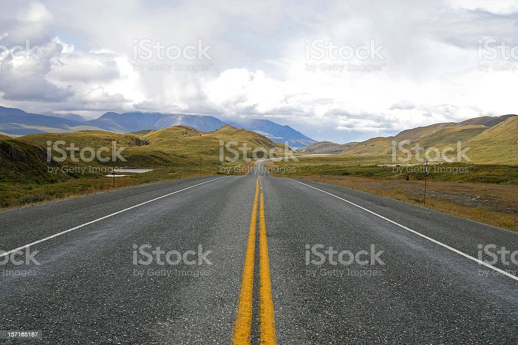Endless highway 2 royalty-free stock photo