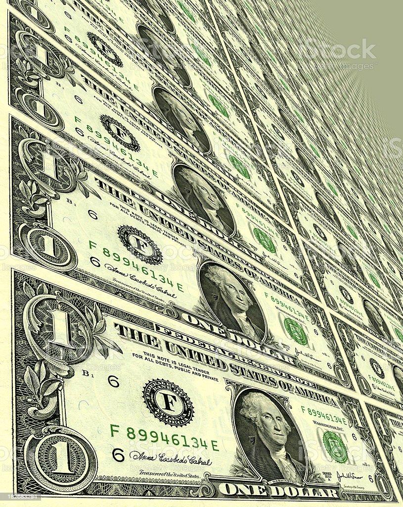 Endless Money royalty-free stock photo