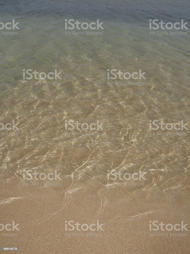 endless ocean water and sand 3 royalty-free stock photo